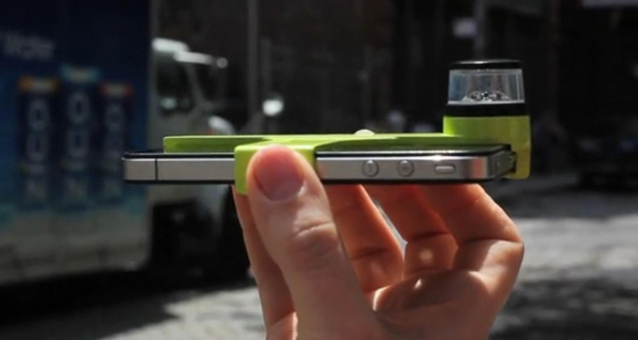 Dot: vídeo con abertura de 360º para el iPhone 4