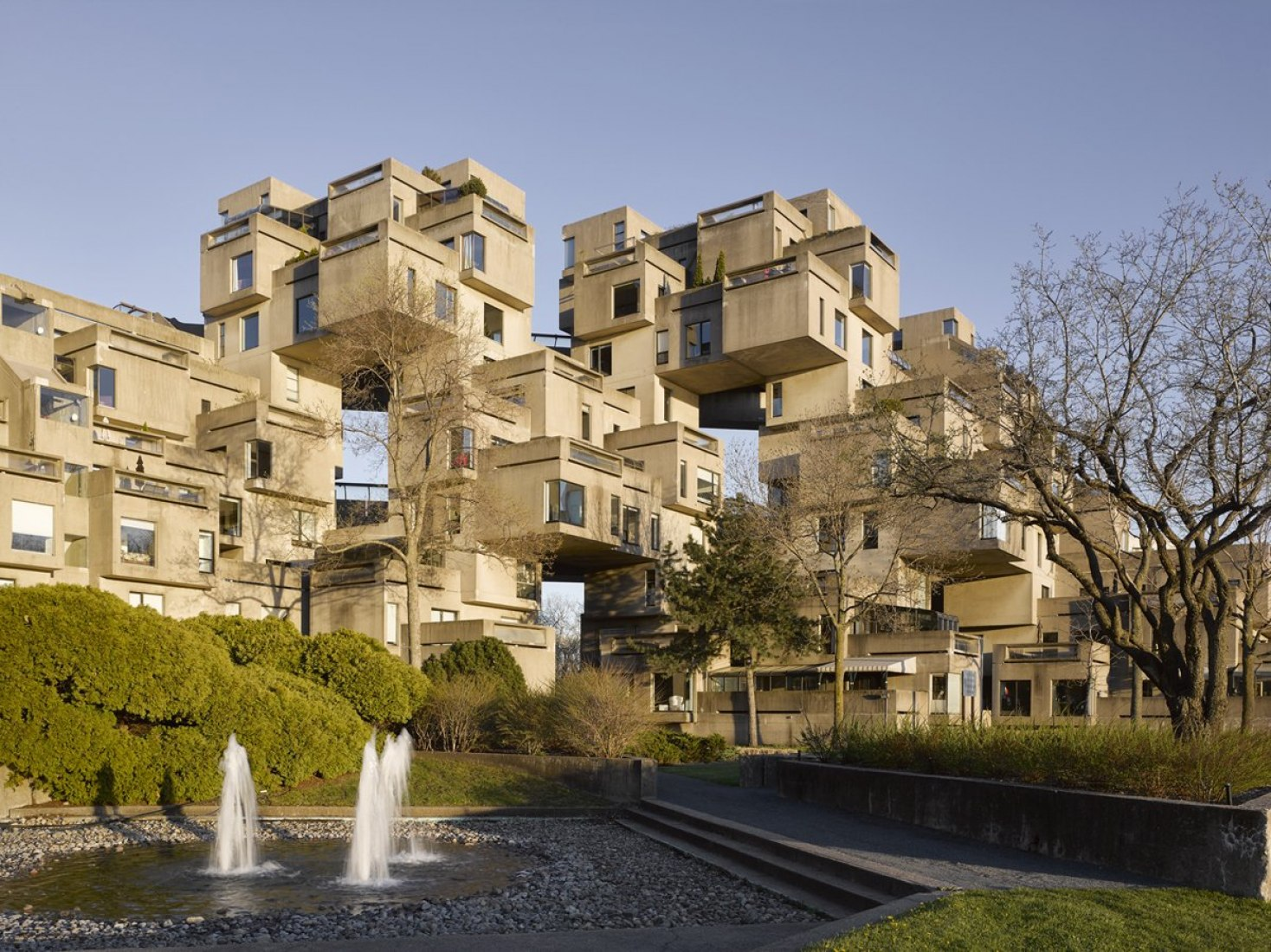 The living architecture of Moshe Safdie's Habitat 67 in Montreal by James Brittain. Photograph by James Brittain