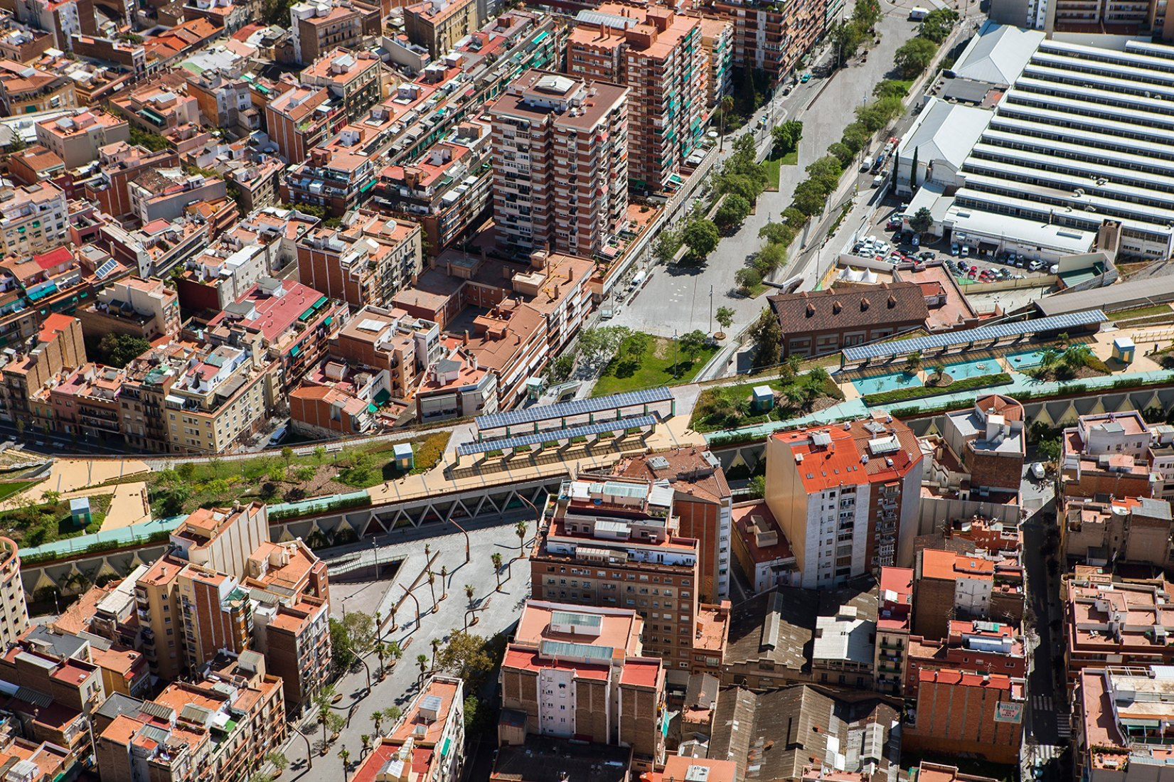 The Spanish High Line  Sants elevated gardens | The Strength