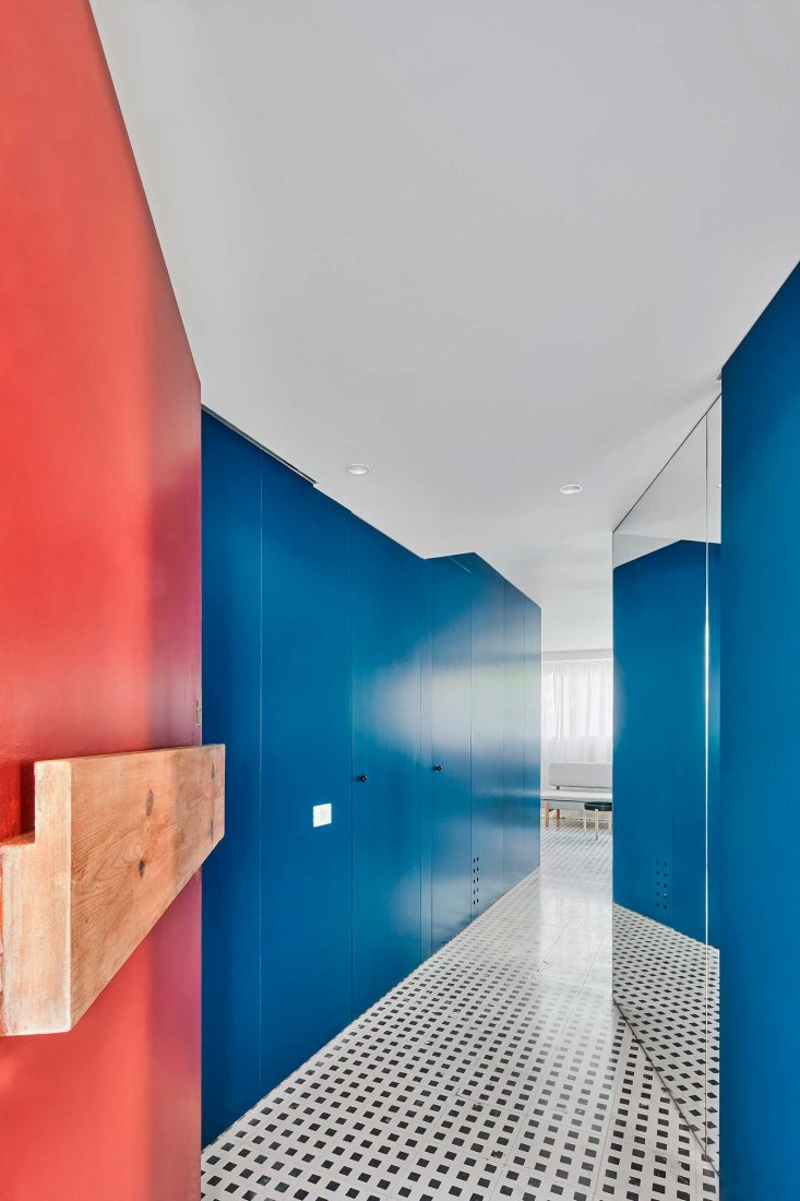 Blue Mirror by Javier J. Iniesta. Photograph by Jose Hevia