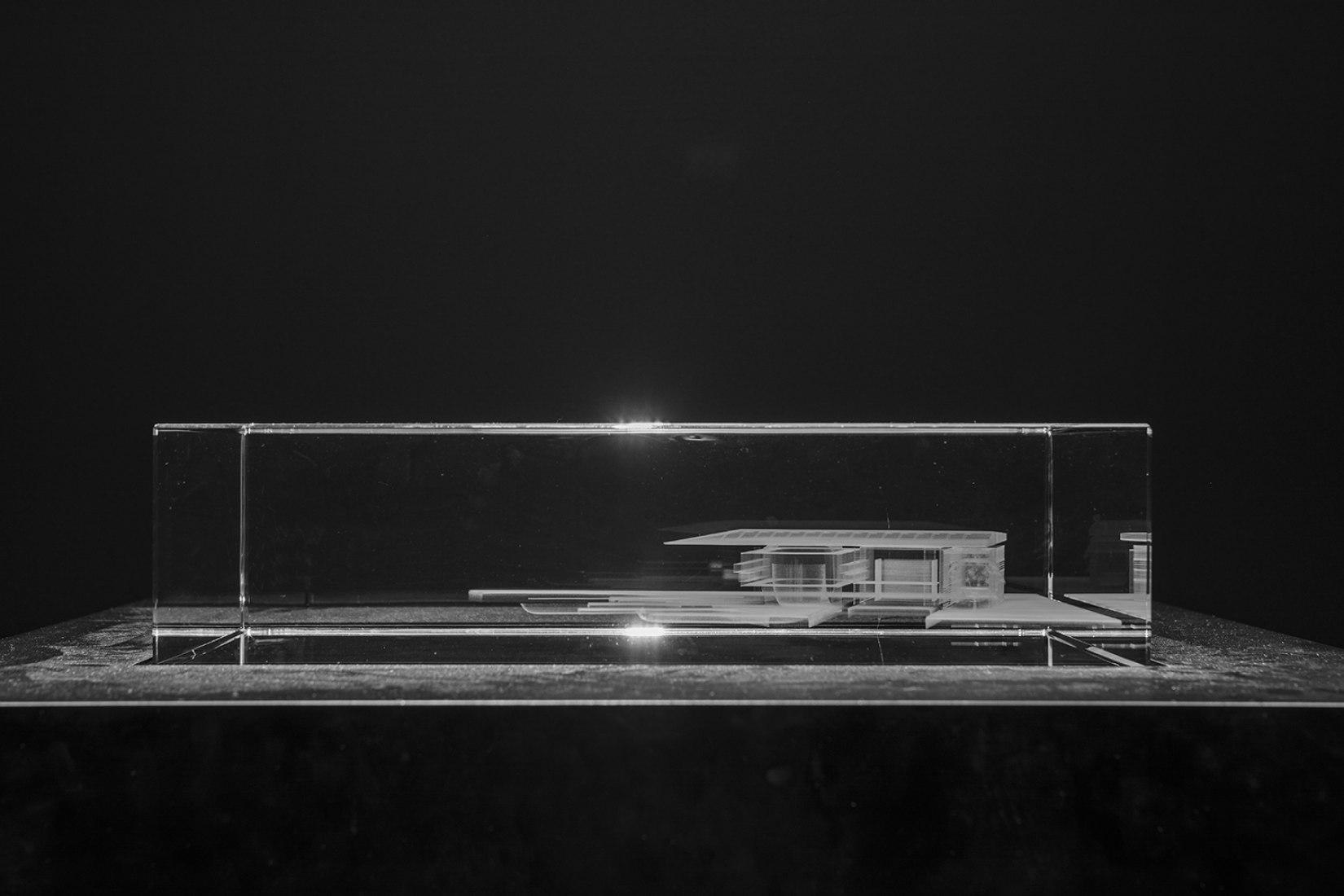 Vista de la exposición. Jean Nouvel, in my head, in my eye…belonging… Imagen cortesía de Power Station of Art.