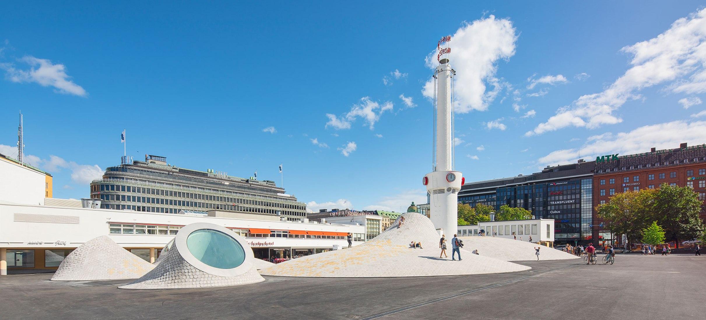 Amos Rex por JKMM Architects. Fotografía por Mika Huisman