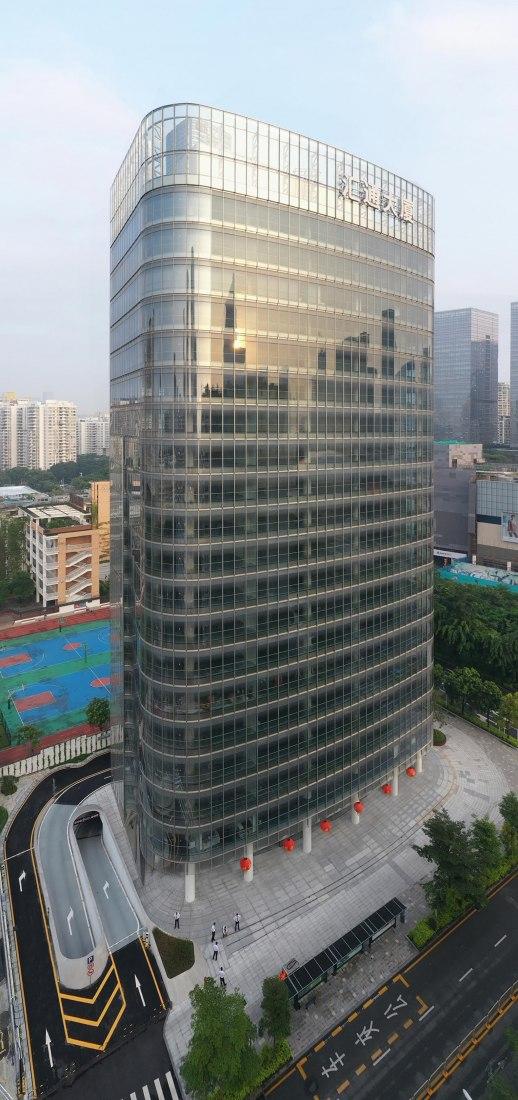 Torre Híbrida de Huitong por JKP Architects. Fotografía por Wenrui Ye