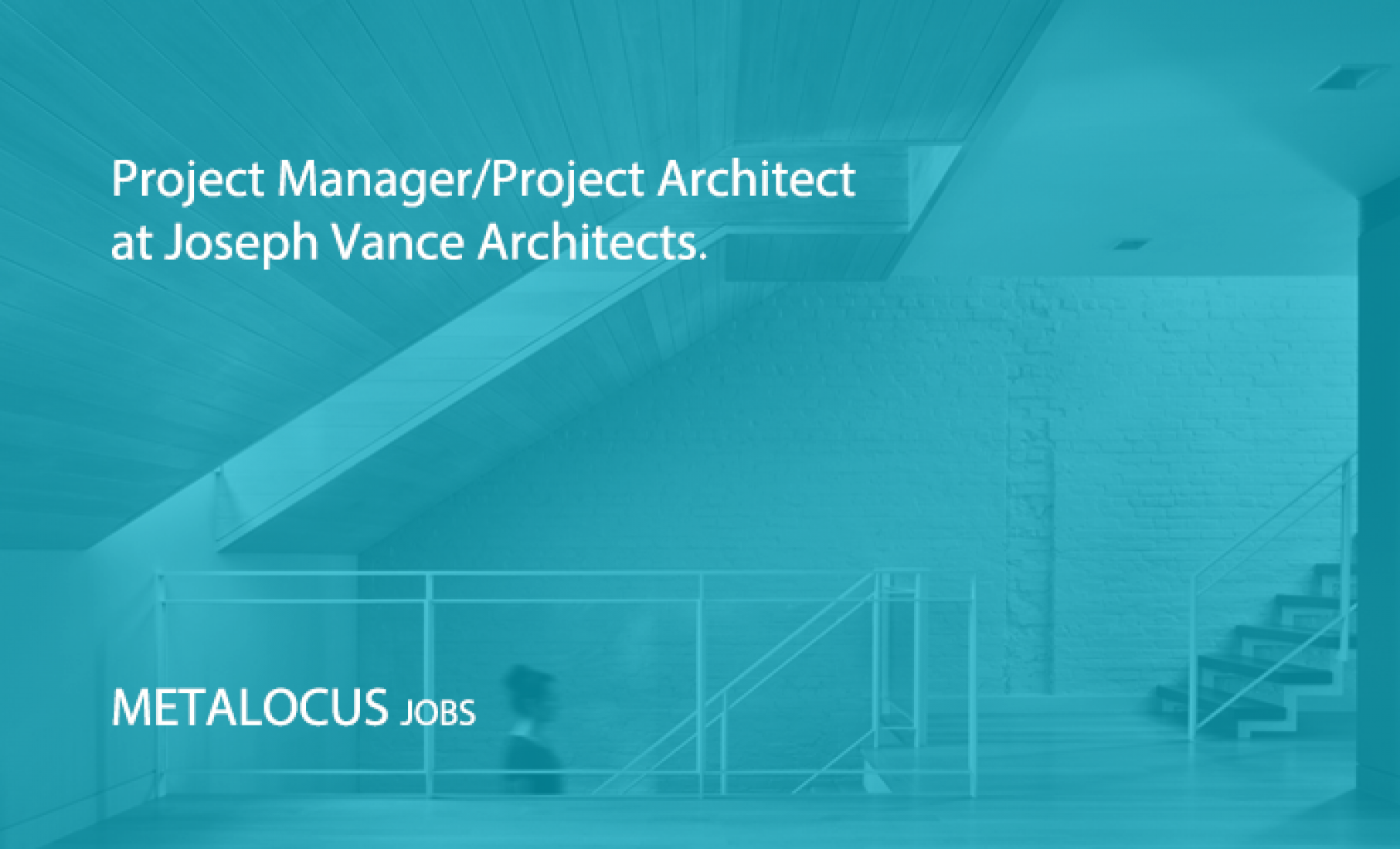 Project Manager/Project Architect at Joseph Vance Architects. New York