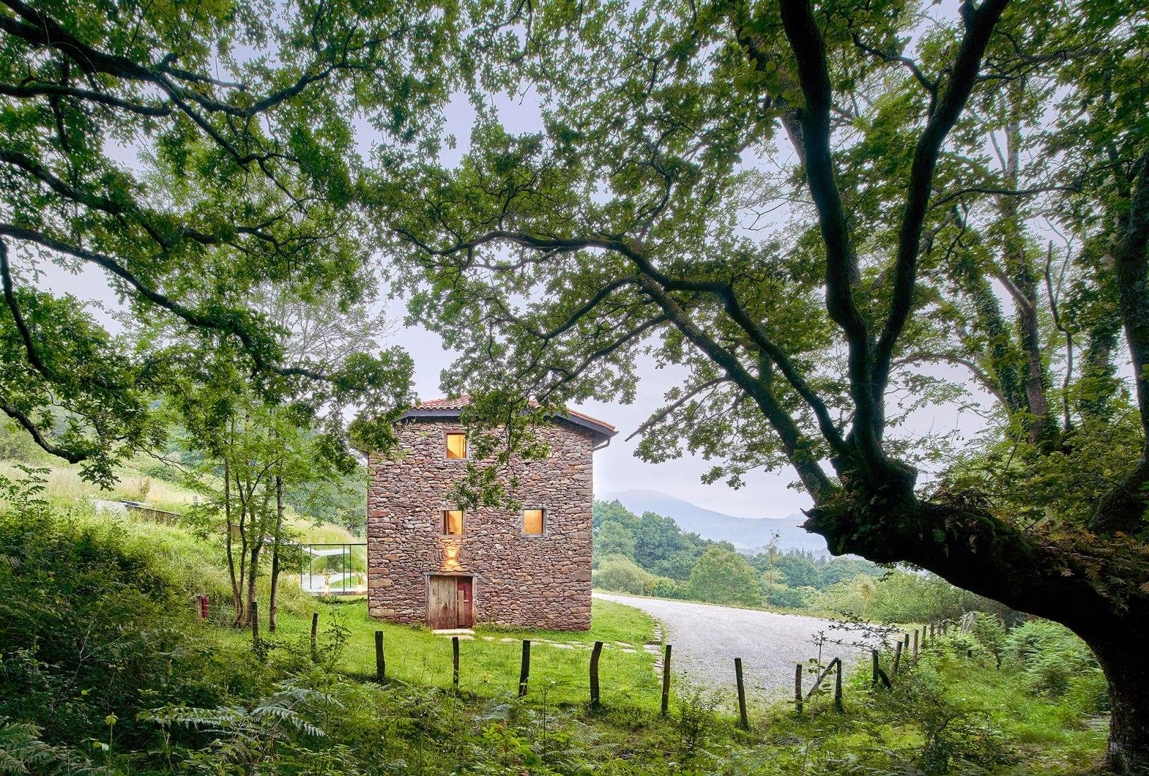 Casa rural Landaburu Borda por Jordi Hidalgo Tané. Fotografía por José Hevia