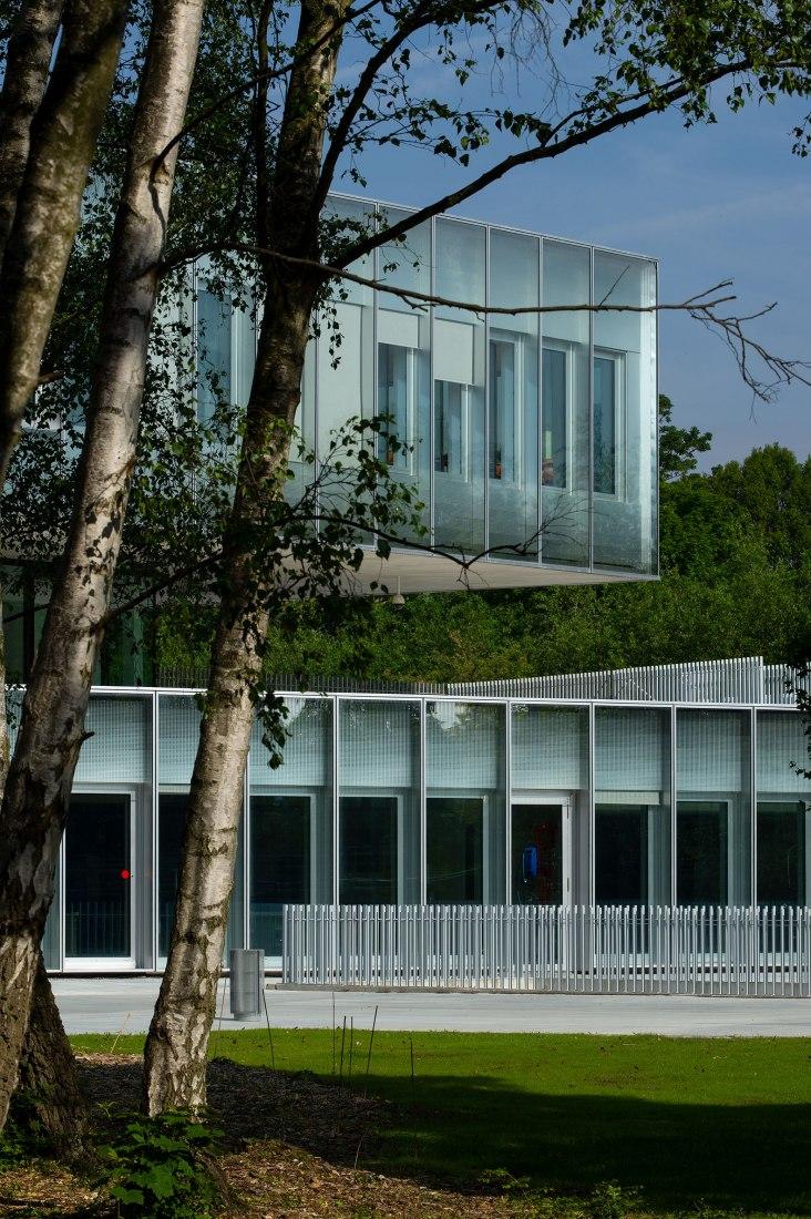 Chambre de Métiers et de l'Artisanat Hauts-De-France por KAAN Architecten and PRANLAS-DESCOURS architect & associates. Fotografía por Antoine Guilhem Ducléon