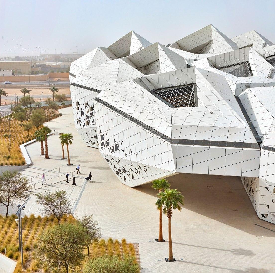 KAPSARC by Zaha Hadid Architects. Photography © Hufton + Crow