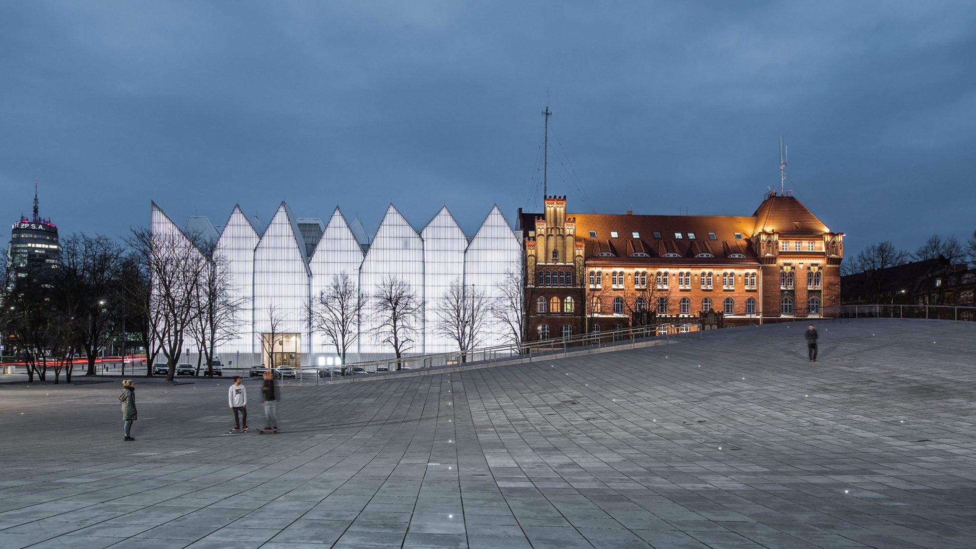 National museum in Szczecin by Robert Konieczny - KWK Promes. Photograph © Juliusz-Sokolowski. Image courtesy of WAF.