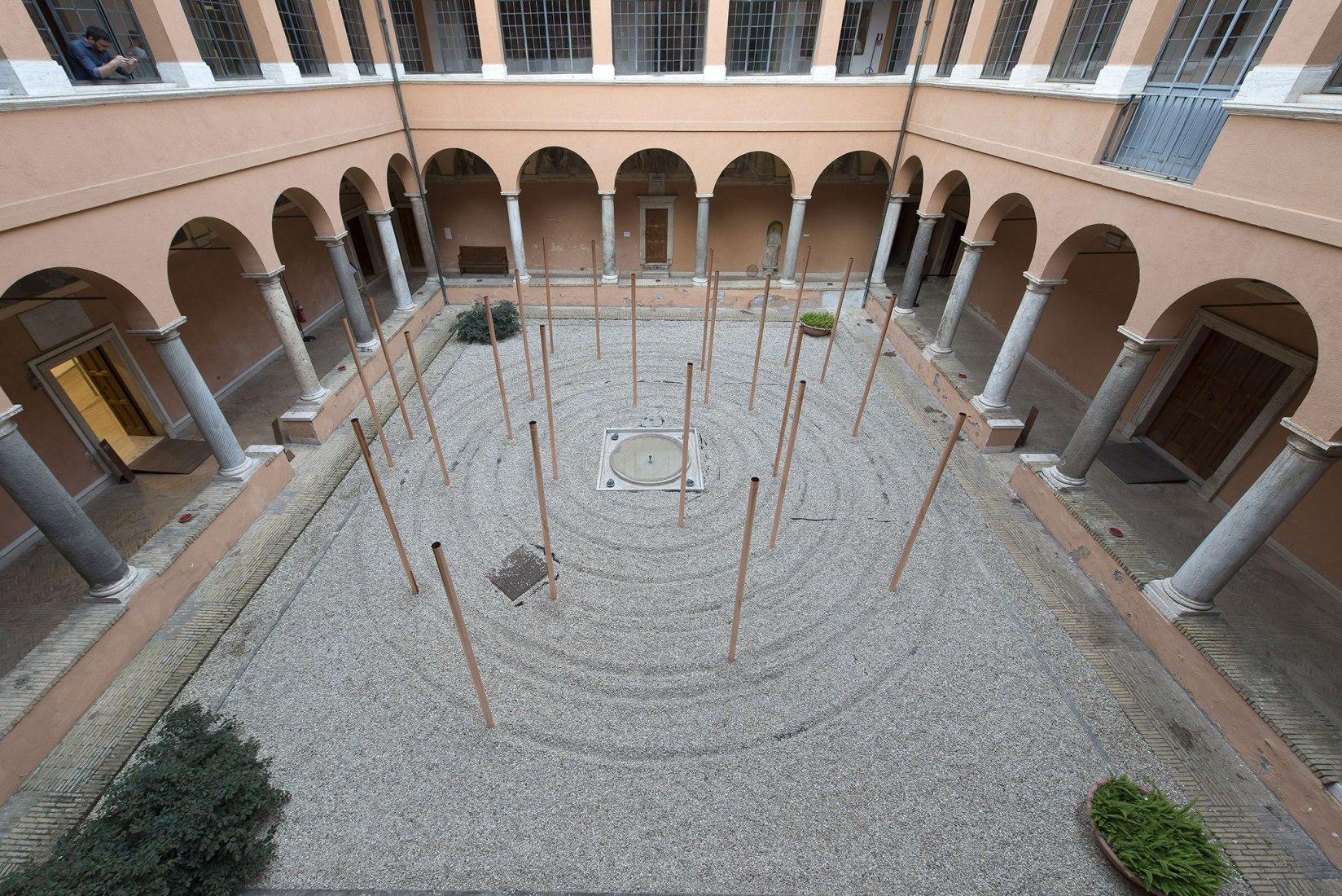 La radice del domani en la Real Academia de Bellas Artes de San Fernando. Imagen cortesía de RAER.