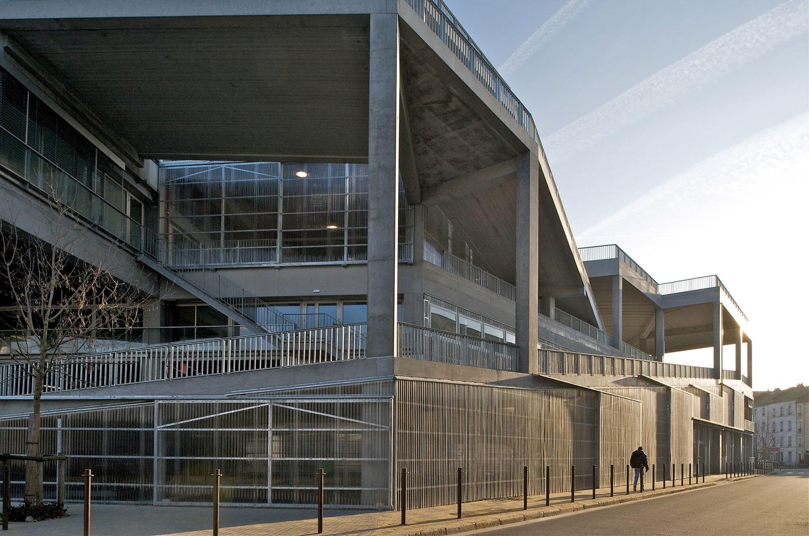Escuela Nacional de Arquitectura de Nantes por Lacaton & Vassal. Fotografía cortesía de Philippe Ruault