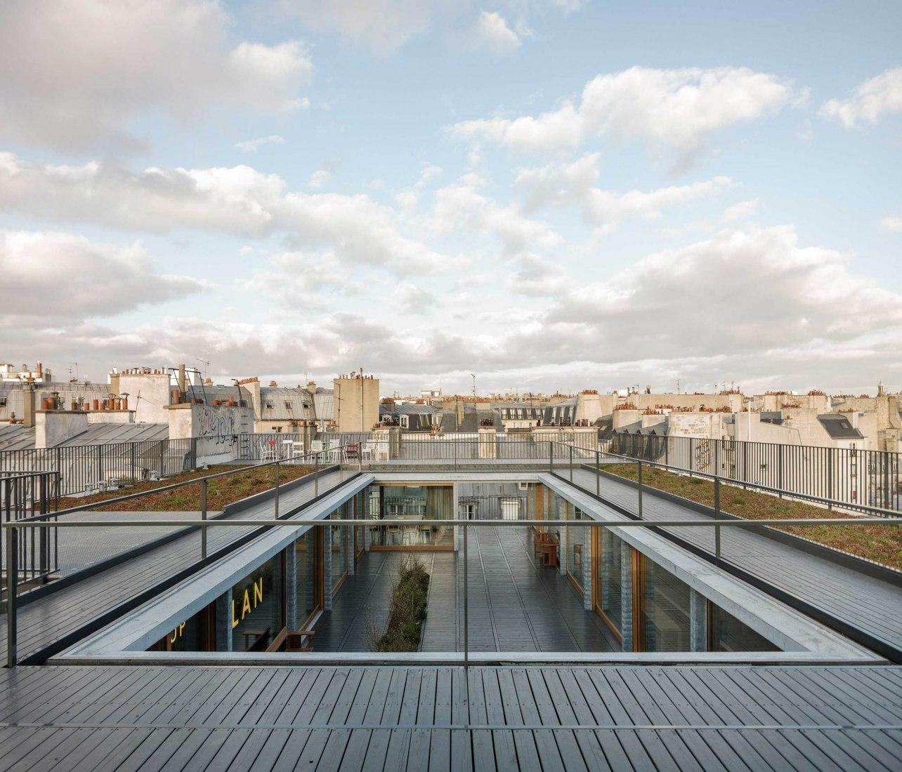 París XI office por LAN architecture. Fotografía por Cyrille Weiner