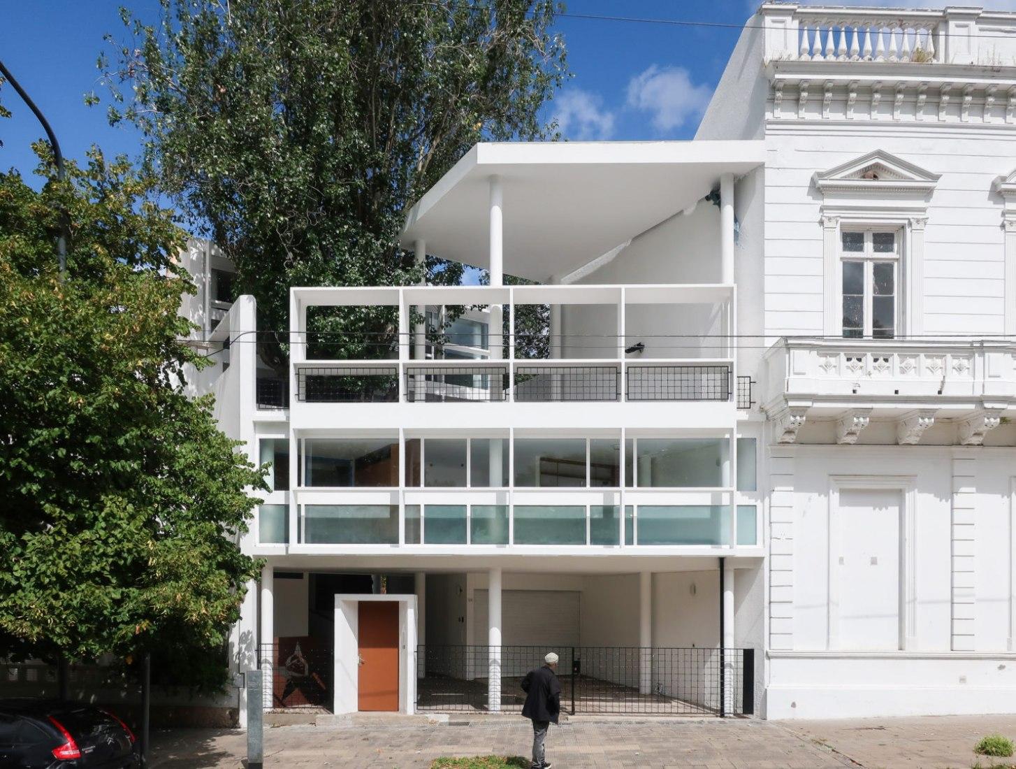 Casa Curutchet por Le Corbusier. Fotografía por Júlia Risi.