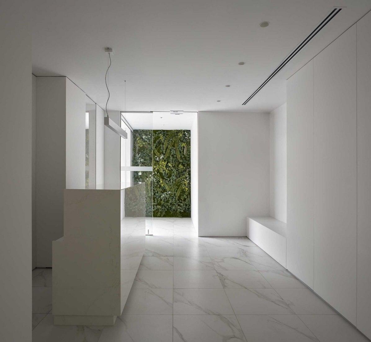 Cózar clinic by Lecoc Arquitectura and Andrés J. Cózar Lizandra. Photograph by Mariela Apollonio