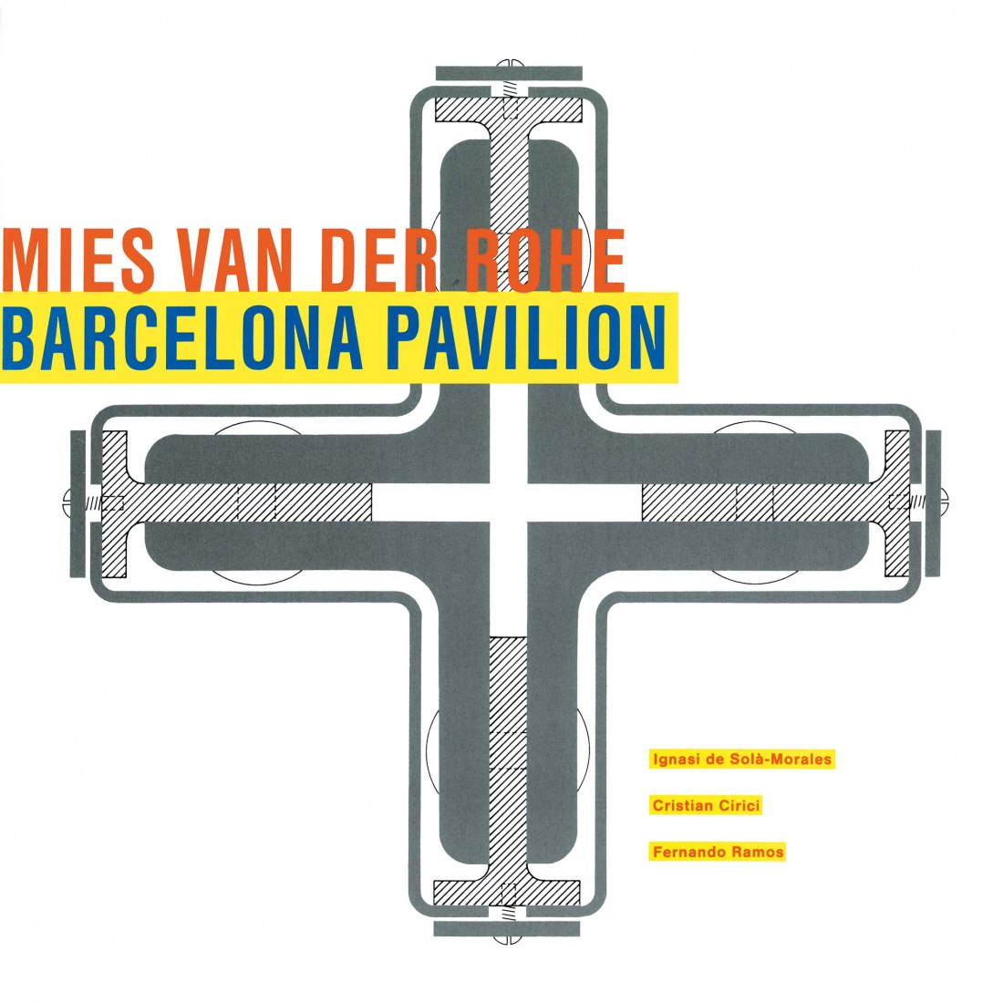 "Cover in English. Reissue of ""Mies van der Rohe. Barcelona Pavilion""."