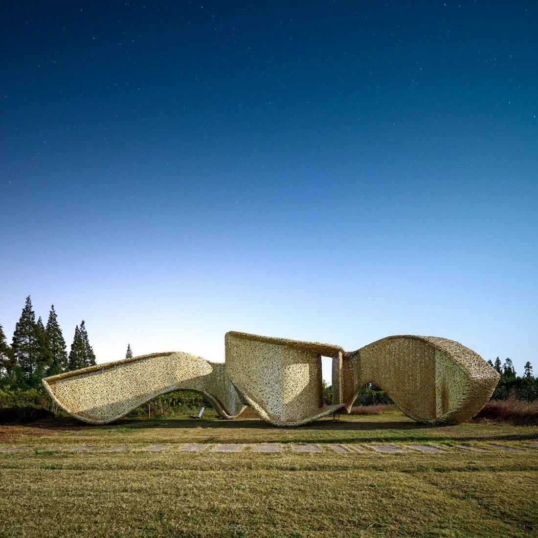 Bamboo Pavilion by LIN architecture. Photograph by Sunkai LIU.