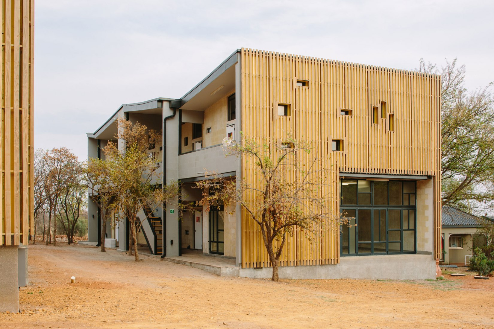 Limpopo Youth Hostel by Local Studio. Photograph by Tristan Mclaren
