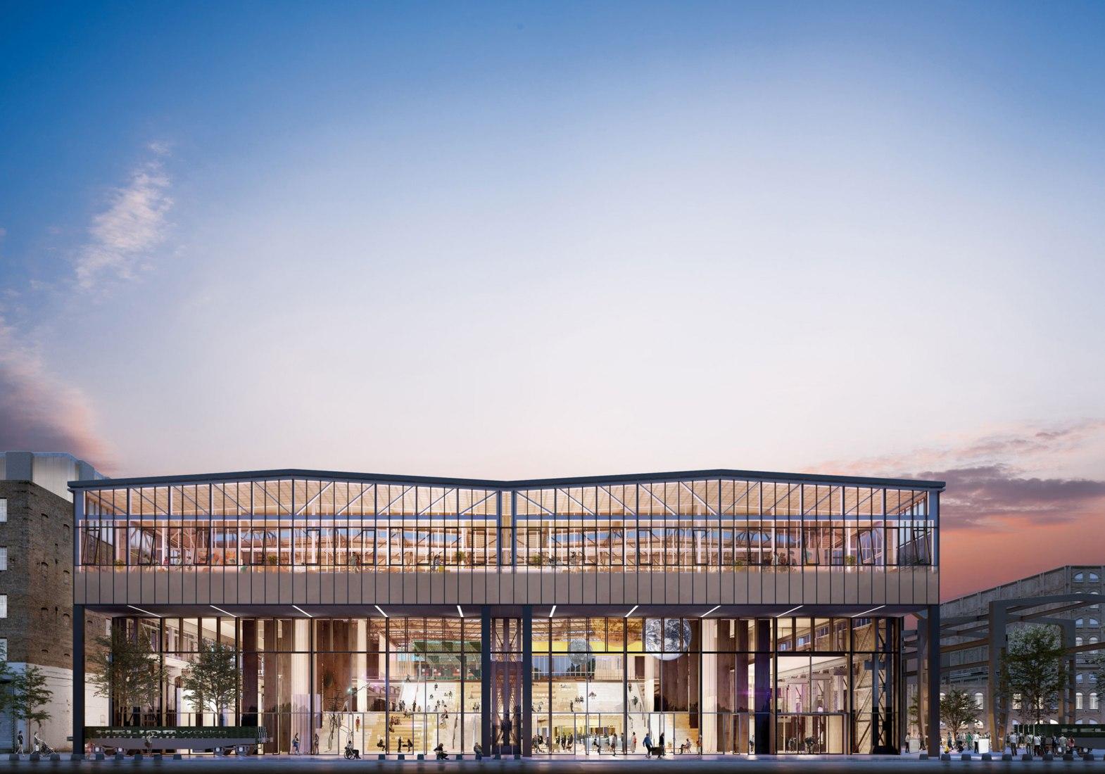 LocHal por CIVIC Architects. Imagen cortesía de CIVIC Architects