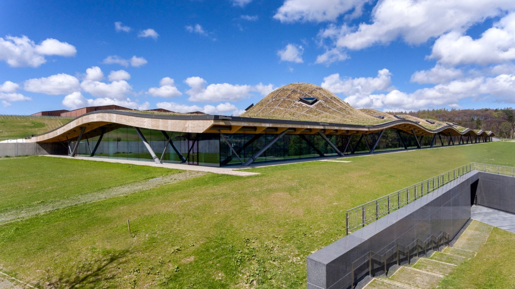 New Macallan Distillery by Rogers Stirk Harbour + Partners. Photograph by Joas Souza