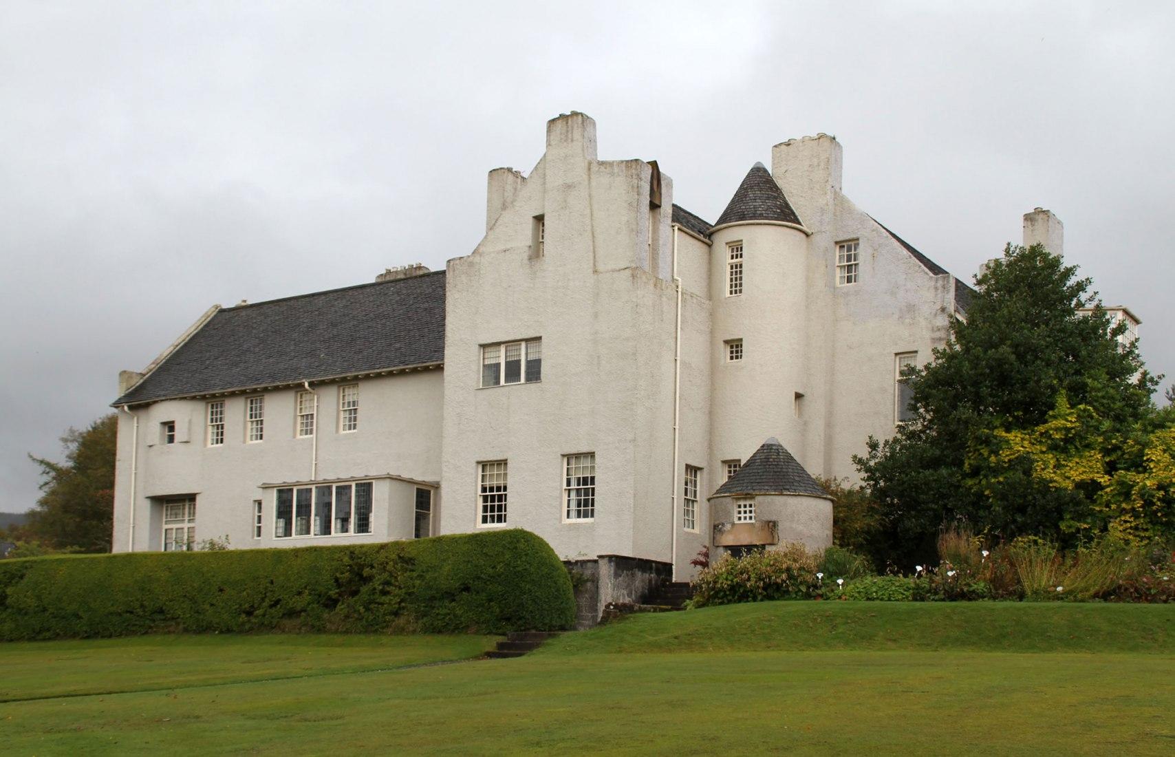 La Casa de la Colina / Hill House en su estado actual. Fotografía por usuario de Flickr hisgett. Licencia bajo CC BY 2.0