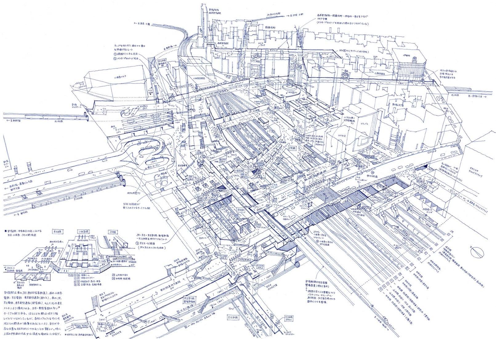 Tomoyuki Tanaka, Dismantling of Shinjuku Station, 2005. Courtesy of Japan Society.
