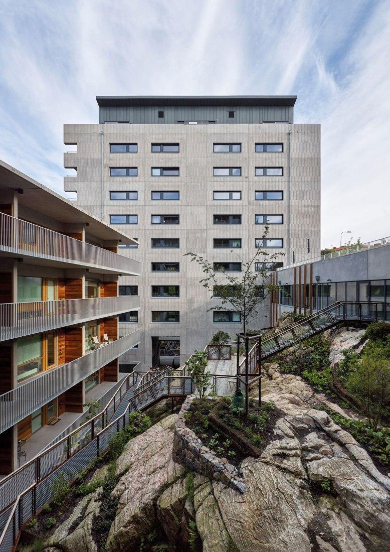 Viva housing co-operative by Malmström Edström Arkitekter Ingenjörer. Photograph by Ulf Celander.