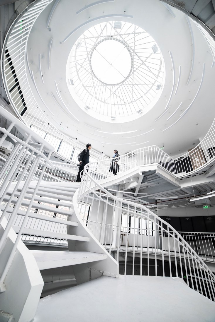 Staircase. Mandela Co-Working by RoarcRenew. Photograph by OscarLok