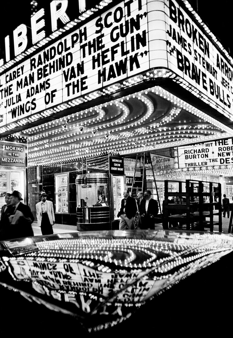 Wings of the Hawk, New York 1955.