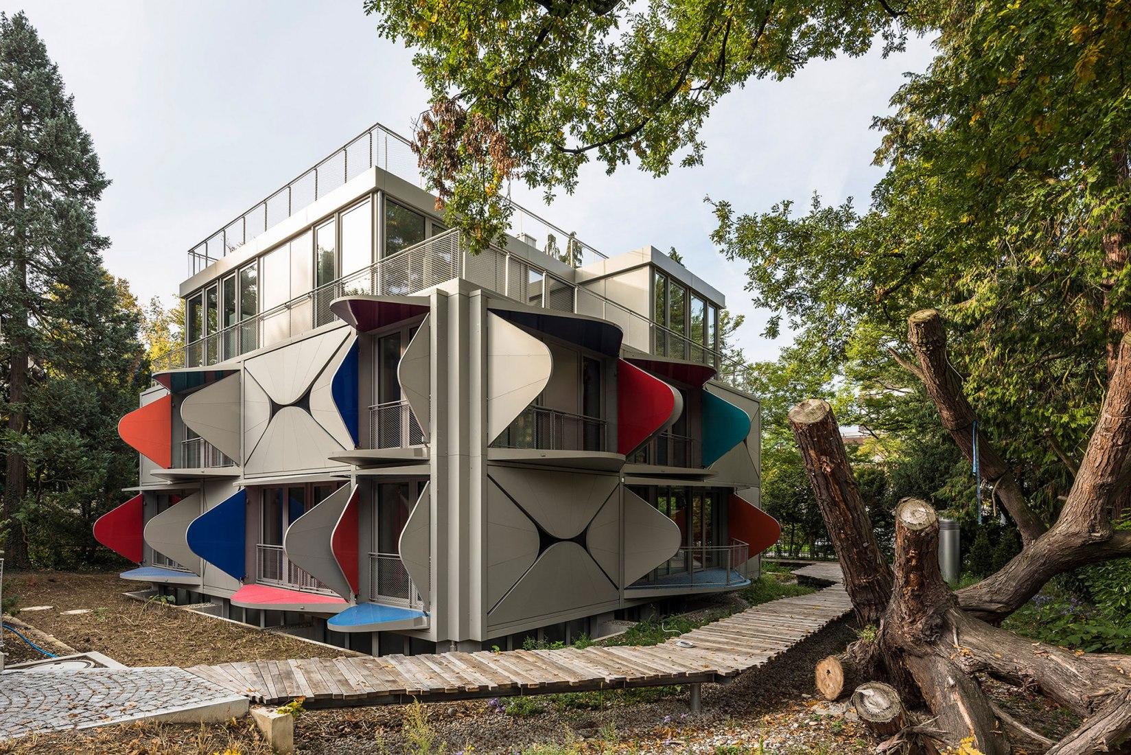 Ballet Mécanique por Manuel Herz Architects. Fotografía por Yuri Palmin