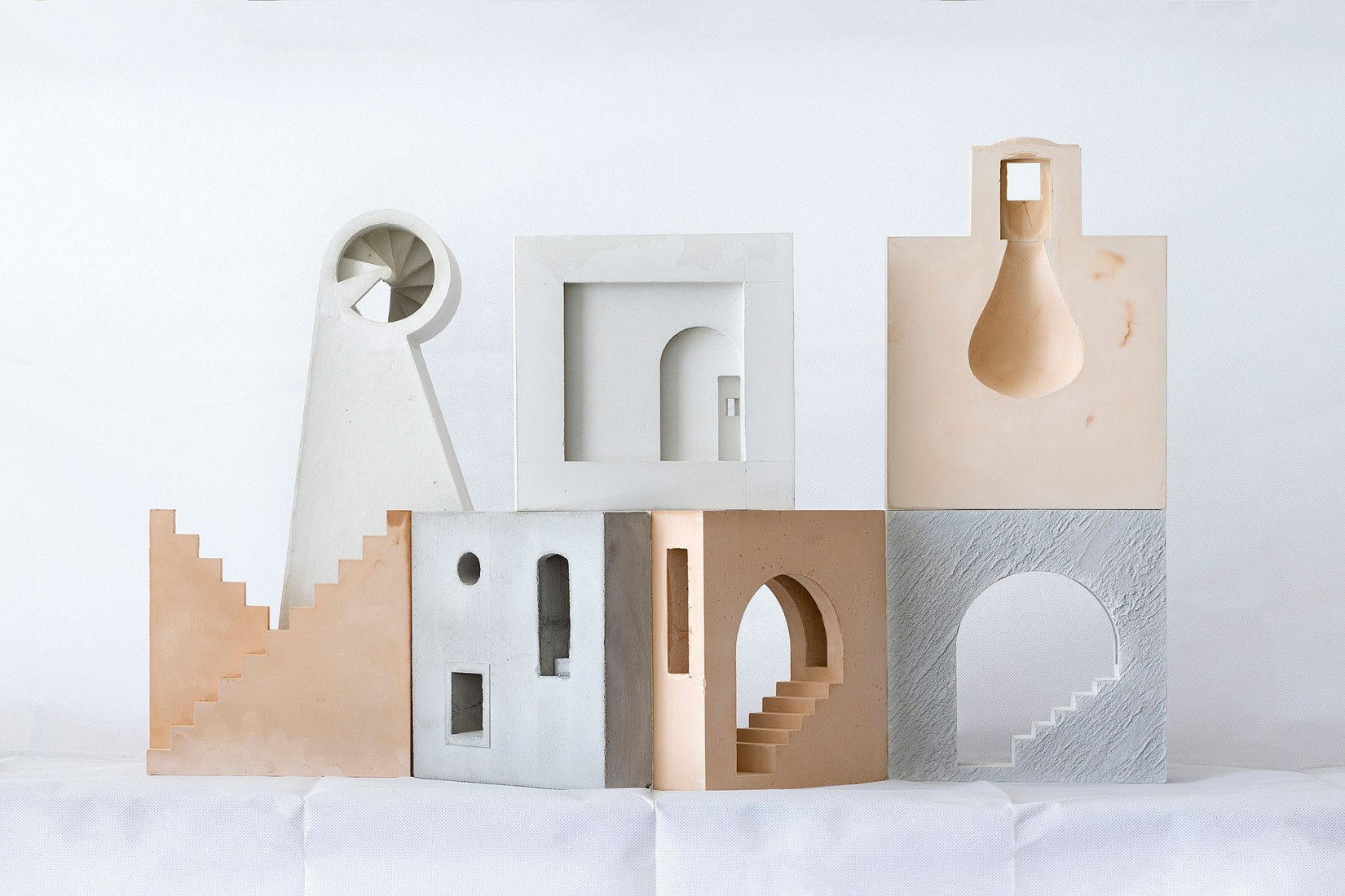 Architecture Fragments by Marià Castelló. Photograph by Marià Castelló