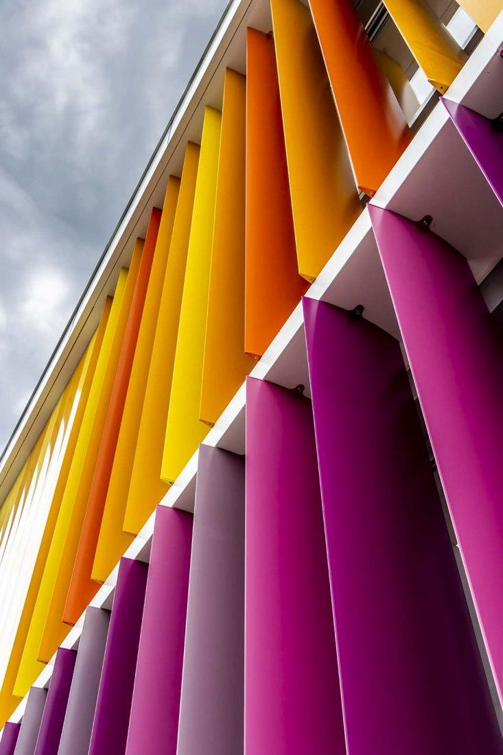 Área de Infantil del Colegio Marista la Fuensanta por IH arquitectos. Fotografía por IH arquitectos