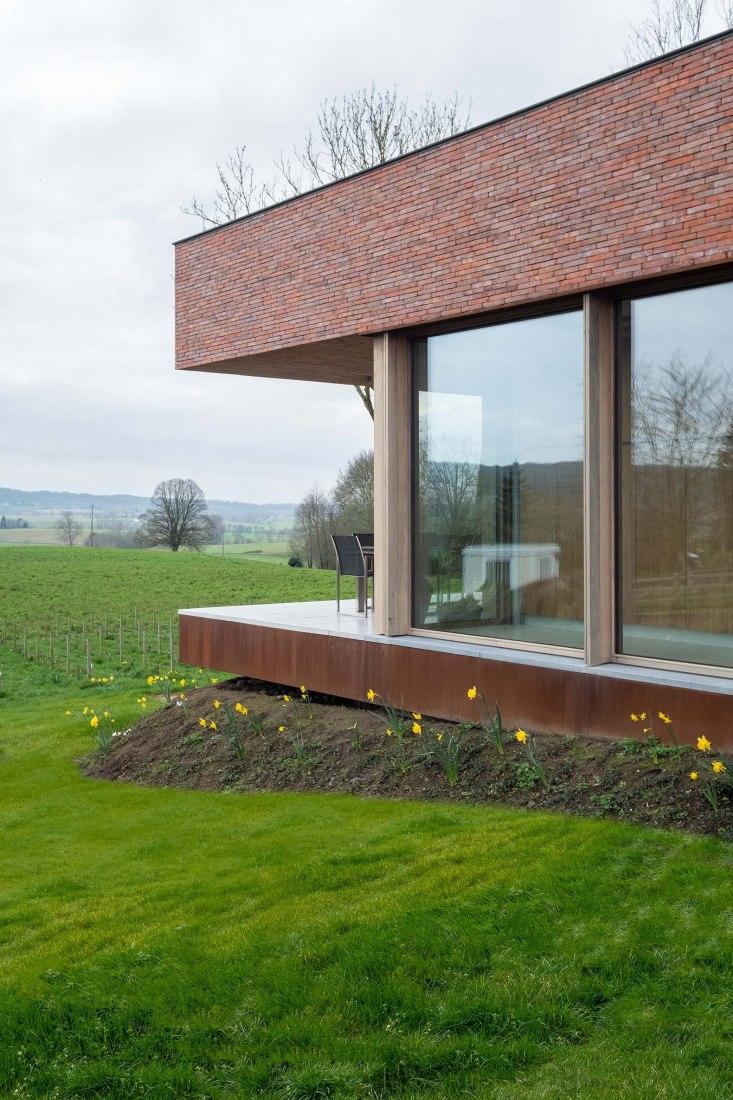 Villa V by Martens Van Caimere Architecten. Photograph by Nick Cannaerts