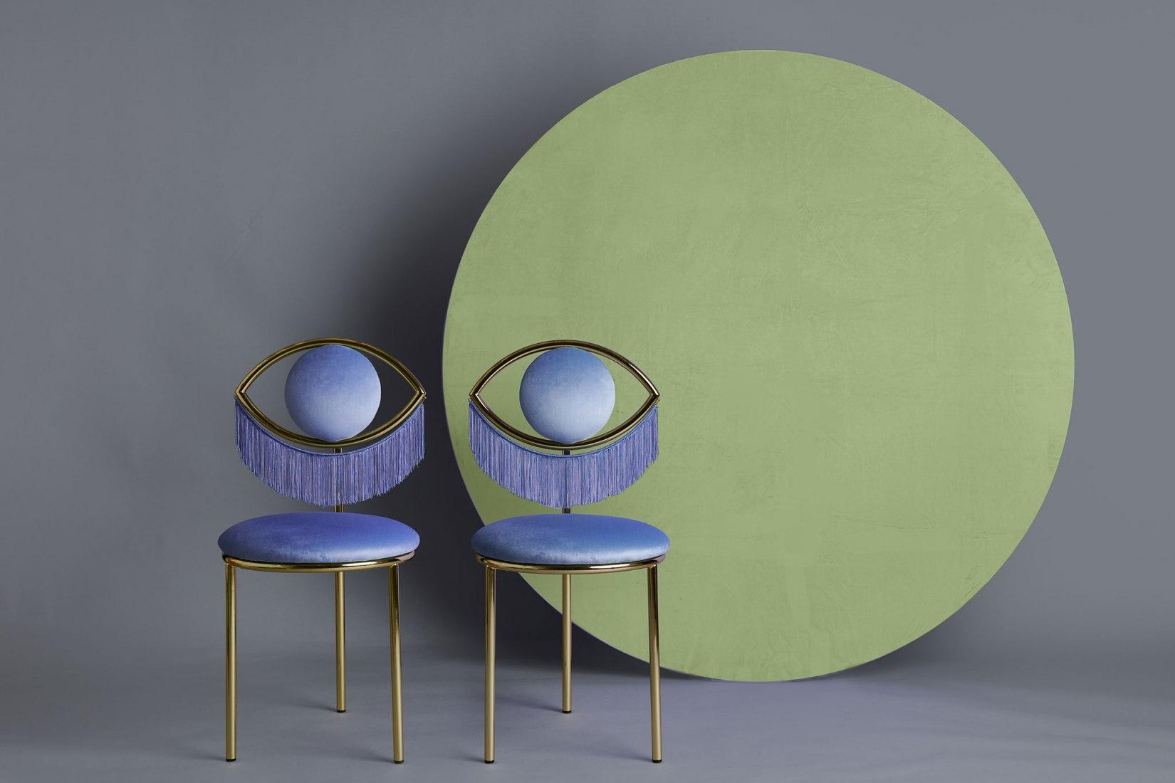 Masquespacio diseña la Wink chair para Houtique. Fotografía por Luis Beltran