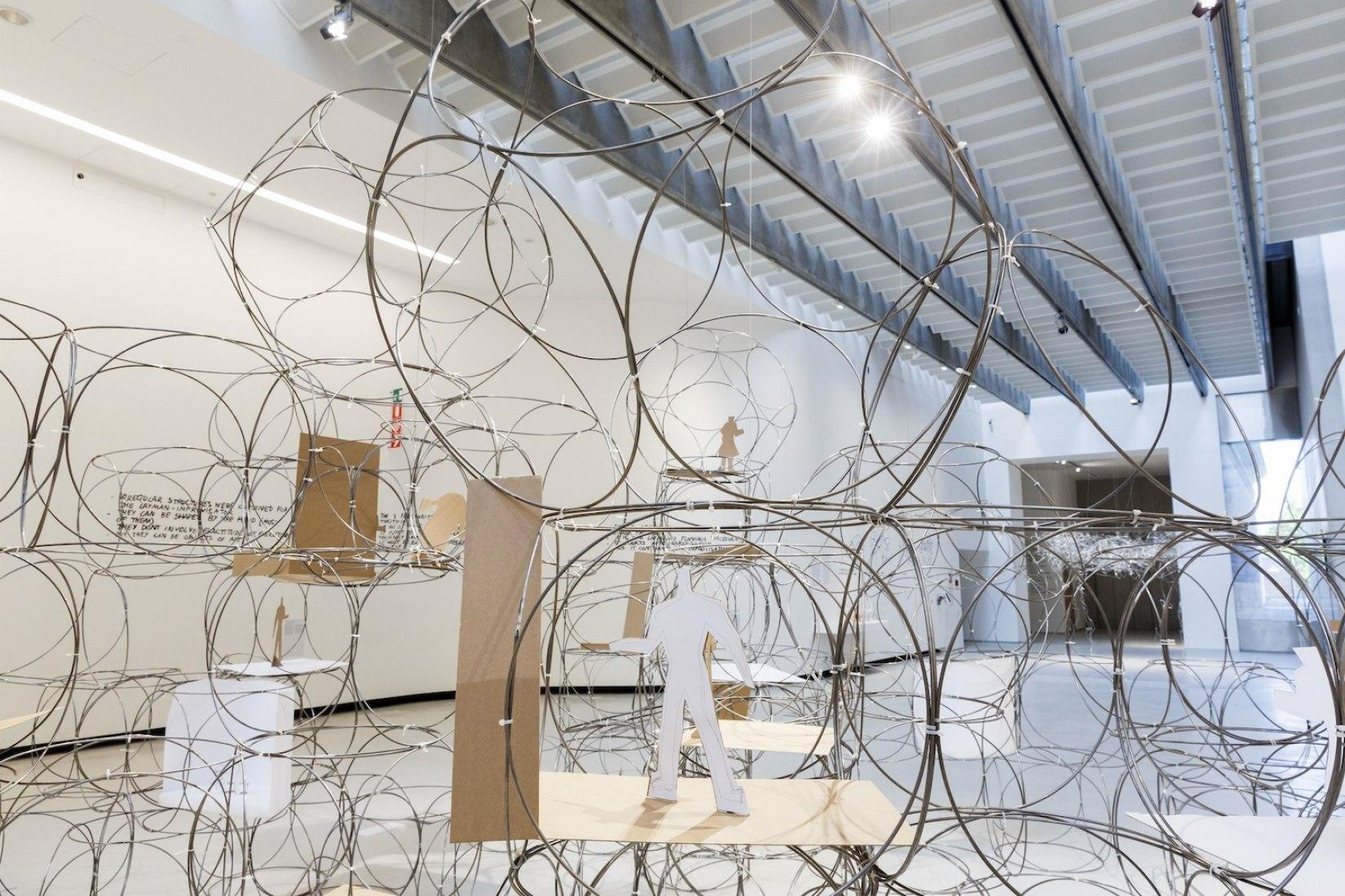 YONA FRIEDMAN. Mobile Architecture, La arquitectura de la gente - Fotografía © Musacchio&Ianniello, Imagen cortesía de Fundación MAXXI