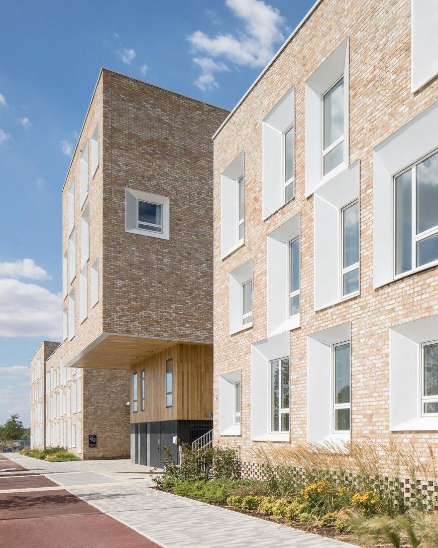 North West Cambridge Development by Mecanoo. Photograph by Mecanoo