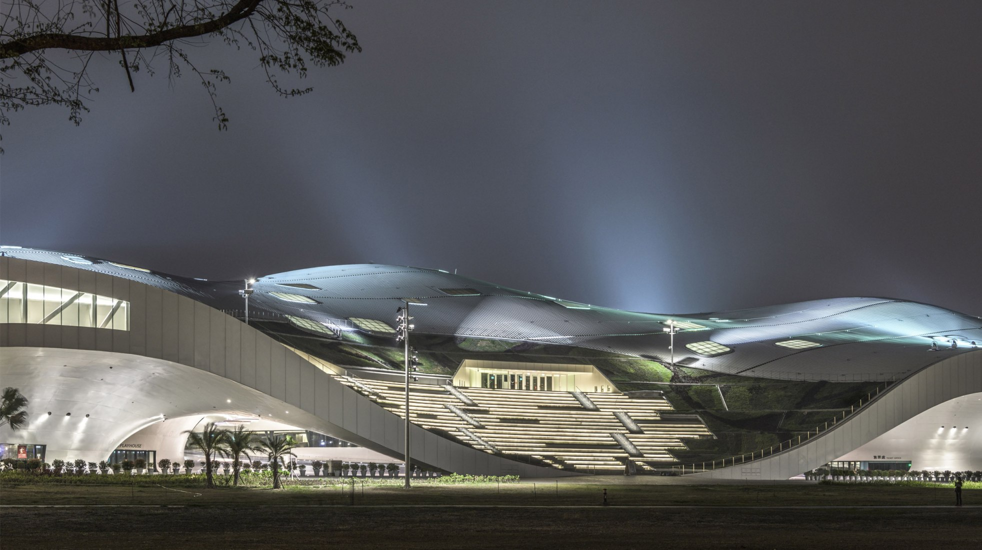 National Kaohsiung Center for the Arts by Mecanoo. Photograph by Ethan Lee