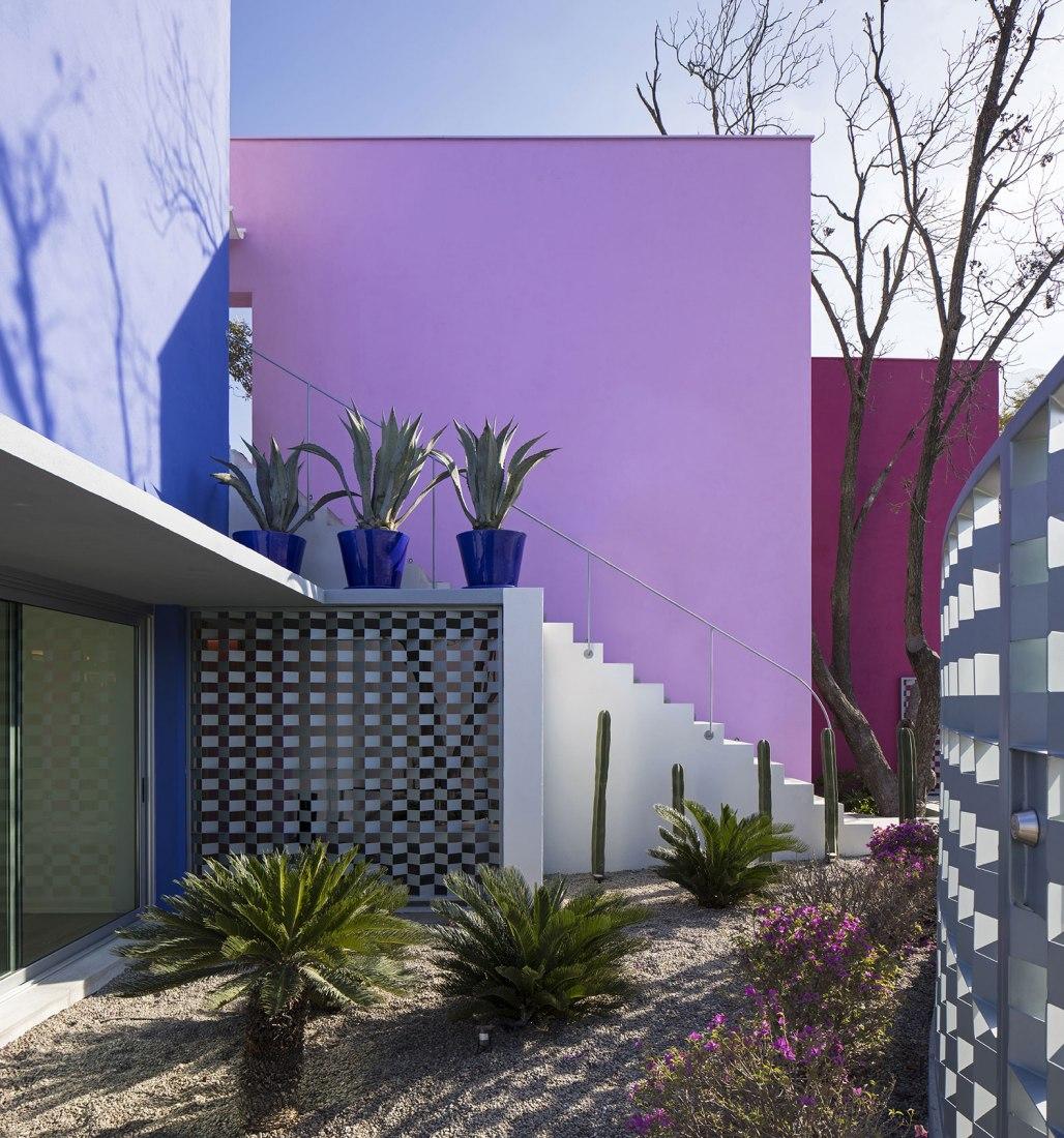 Entrada. Casa TEC 205 por Moneo Brock Studio. Fotografía © Adrián Llaguno