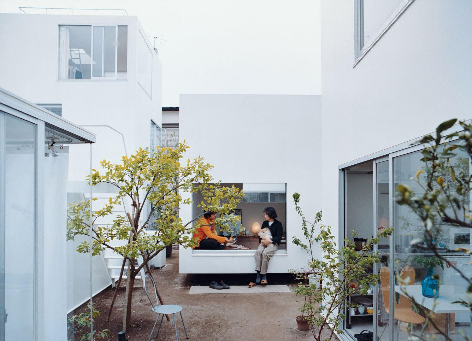 Ryue Nishizawa, Casa Moriyama, Tokio, Japón, 2005.