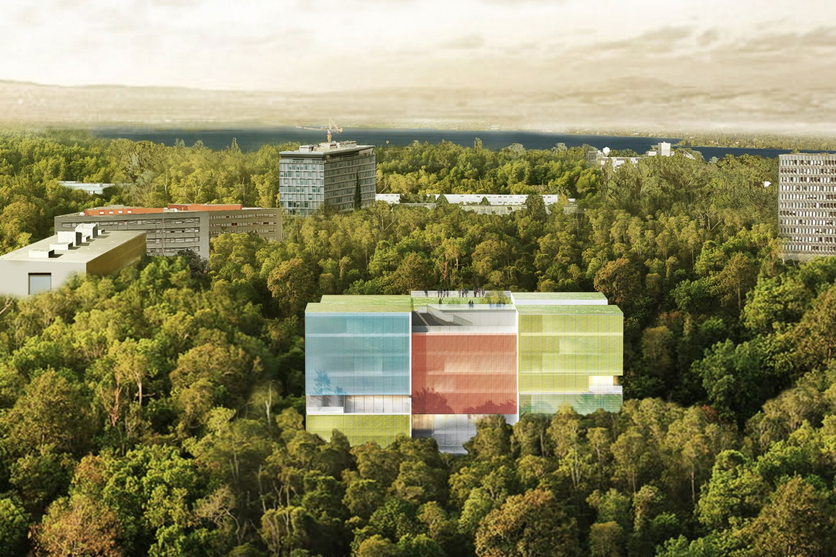 Overview. New Médecins sans Frontières Headquarters by Steven Holl Architects