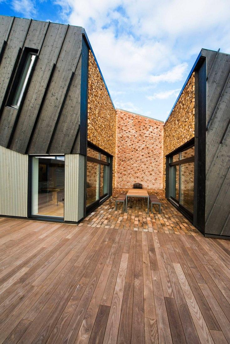 Casa Plus de Larvik por Snøhetta. Imagen cortesía de Snøhetta