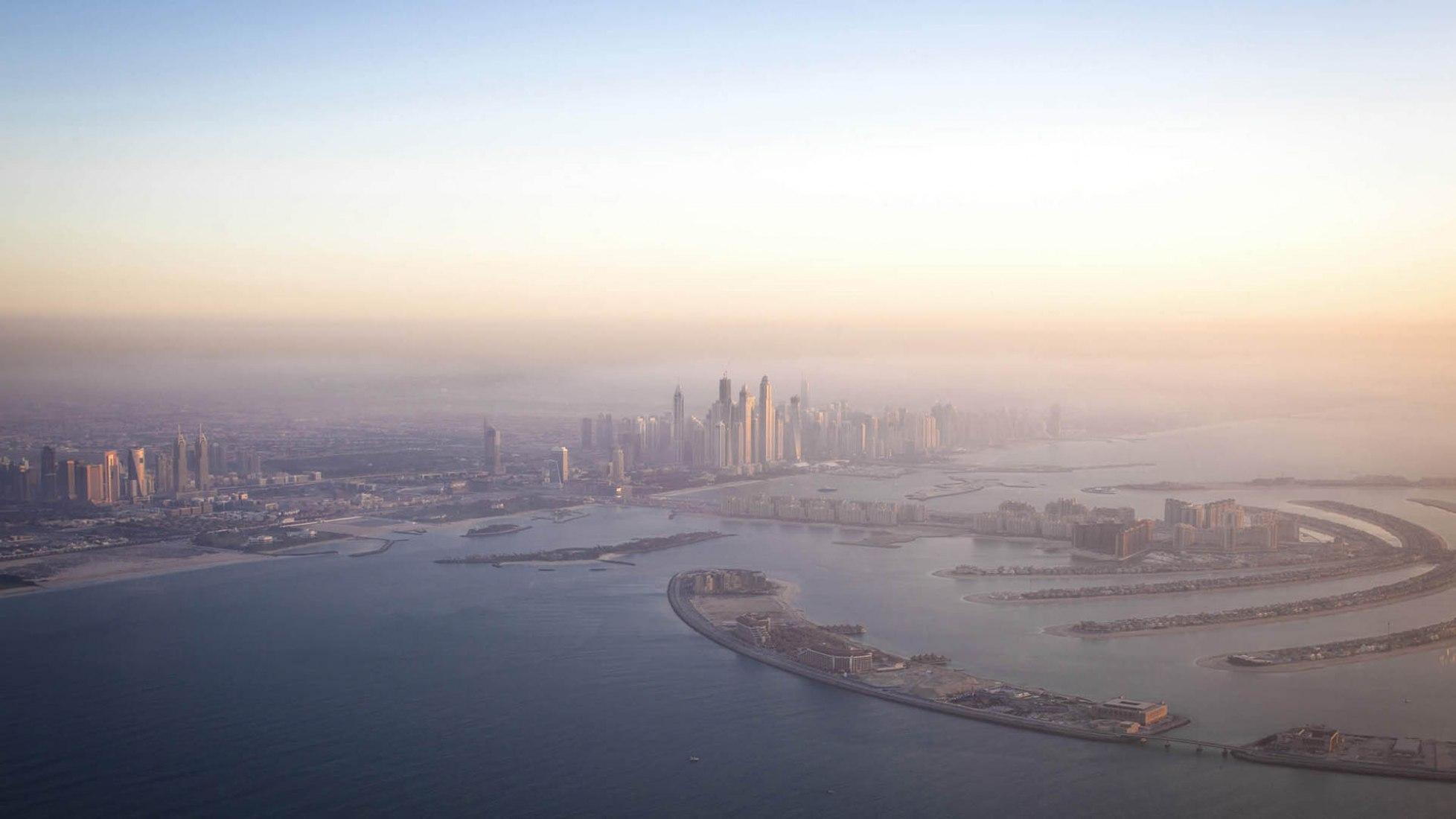 Jumeirah - Dubai overview. Muraba Residences by RCR Arquitectes. Photograph © Airey Spaces.