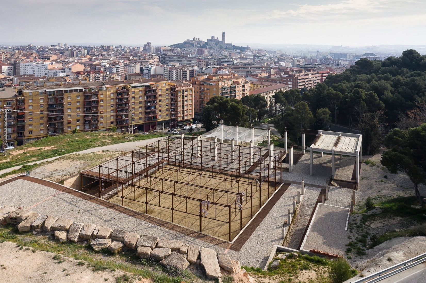 Lleida Climate Museum by Toni Gironès. Photograph by Fernando Alda.