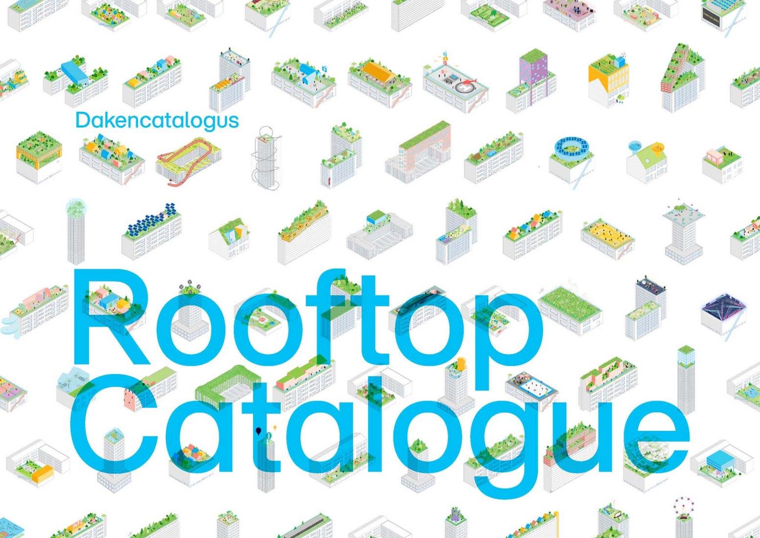Catálogo de Cubiertas de Rotterdam para los Días de las Cubiertas de Rotterdam por MVRDV. Cortesía de MVRDV
