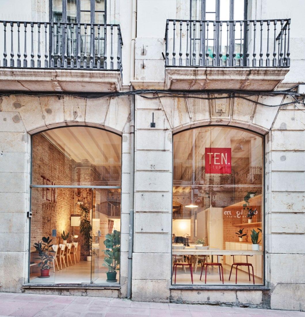 TEN Studio por NAM Arquitectura. Fotografía por José Hevia