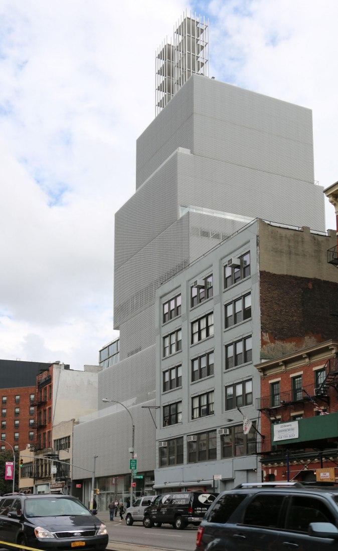 Miércoles 11 de octubre de 2017. New Museum. 235 Bowery, Nueva York. Fotografía © José Juan Barba