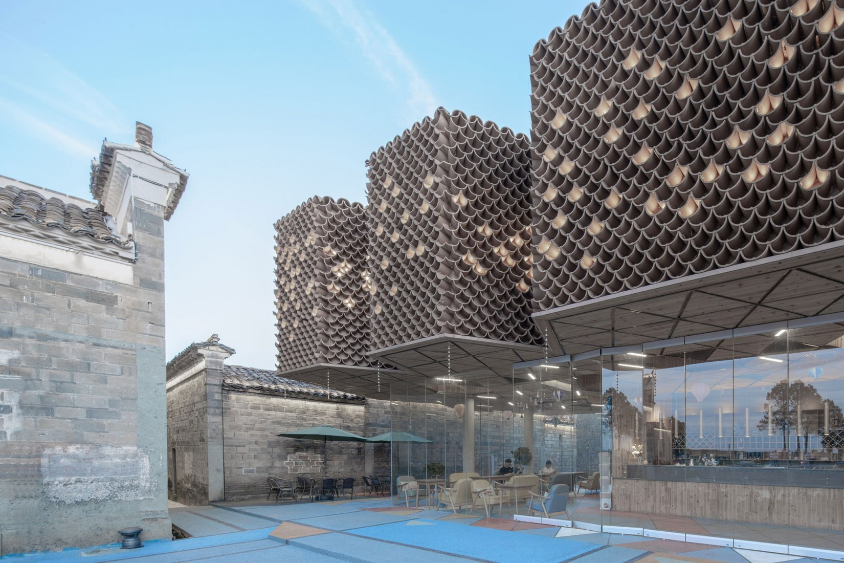 Holland Dafang Creative Village por NEXT architects. Imagen cortesía de NEXT architects