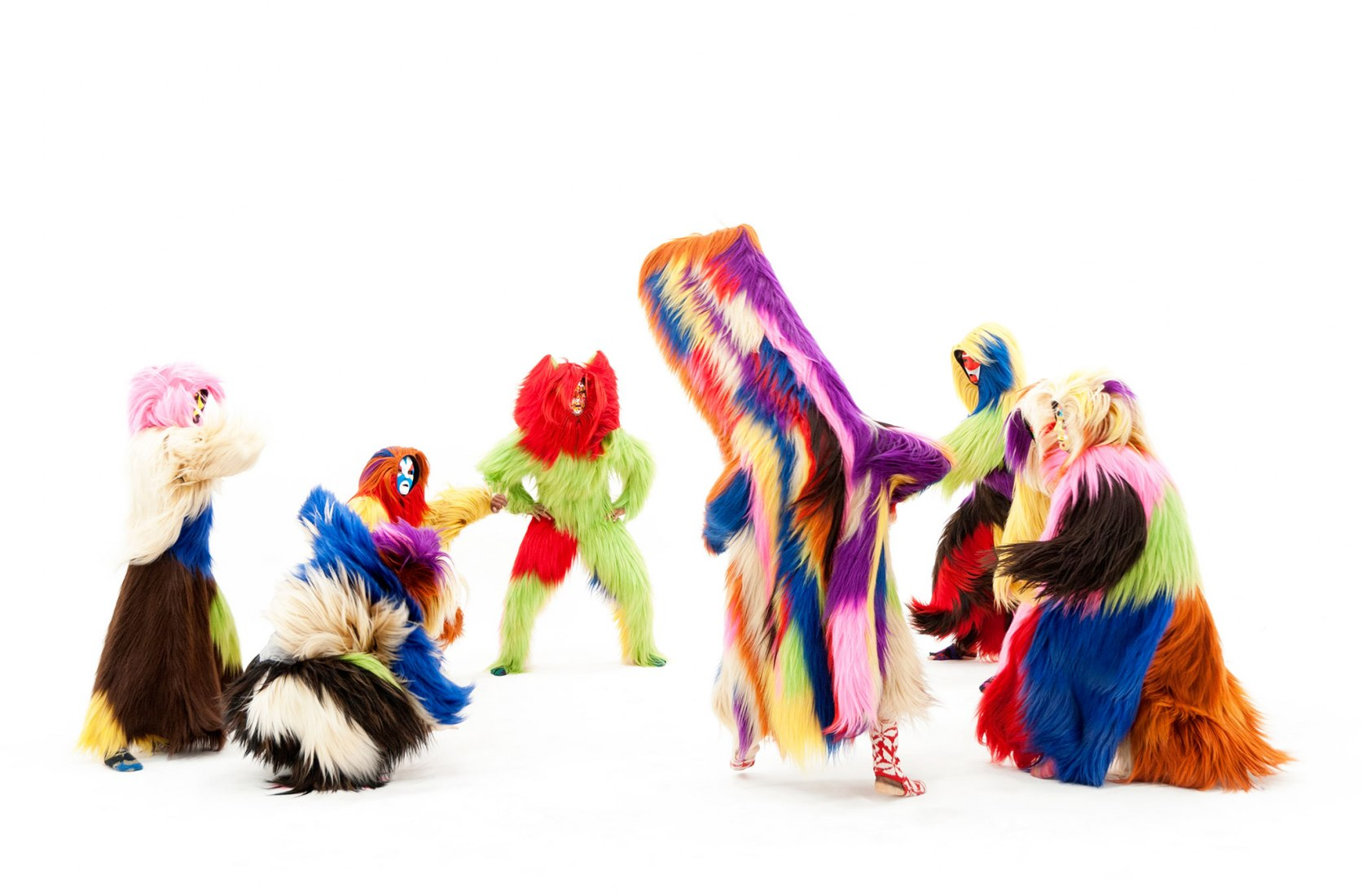 Soundsuits works by Nick Cave