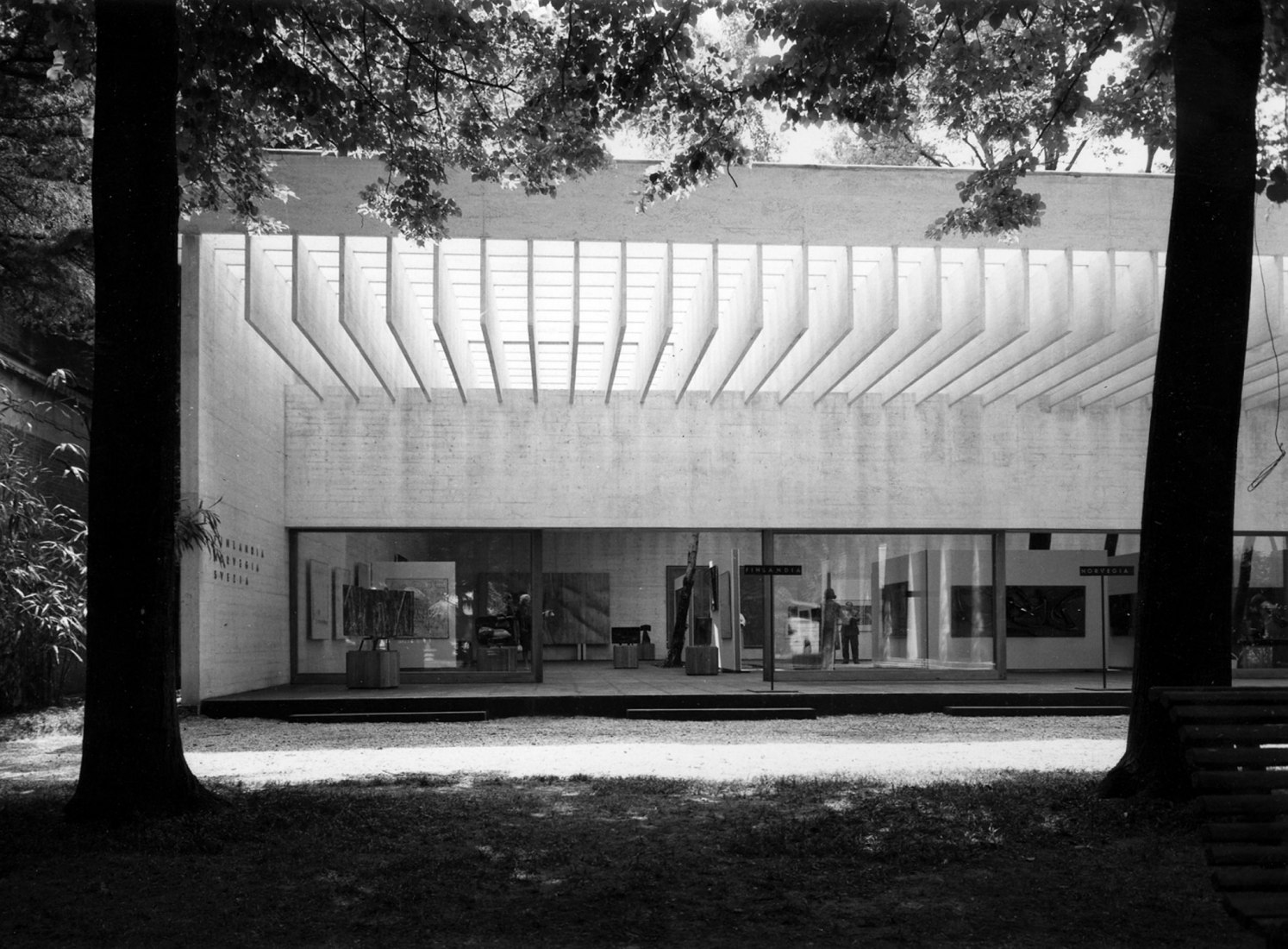 Nordic Pavilion, Venice. Photograph by Ferruzzi. Courtesy of Nasjonalmuseet