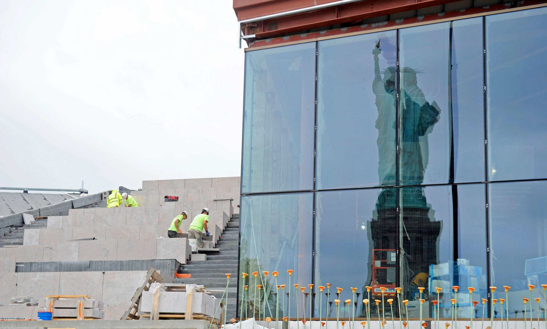 Museo de la Estatua de la Libertad por FXCollaborative. Fotografía por Diane Bondareff/AP Images para la Statue of Liberty-Ellis Island Foundation