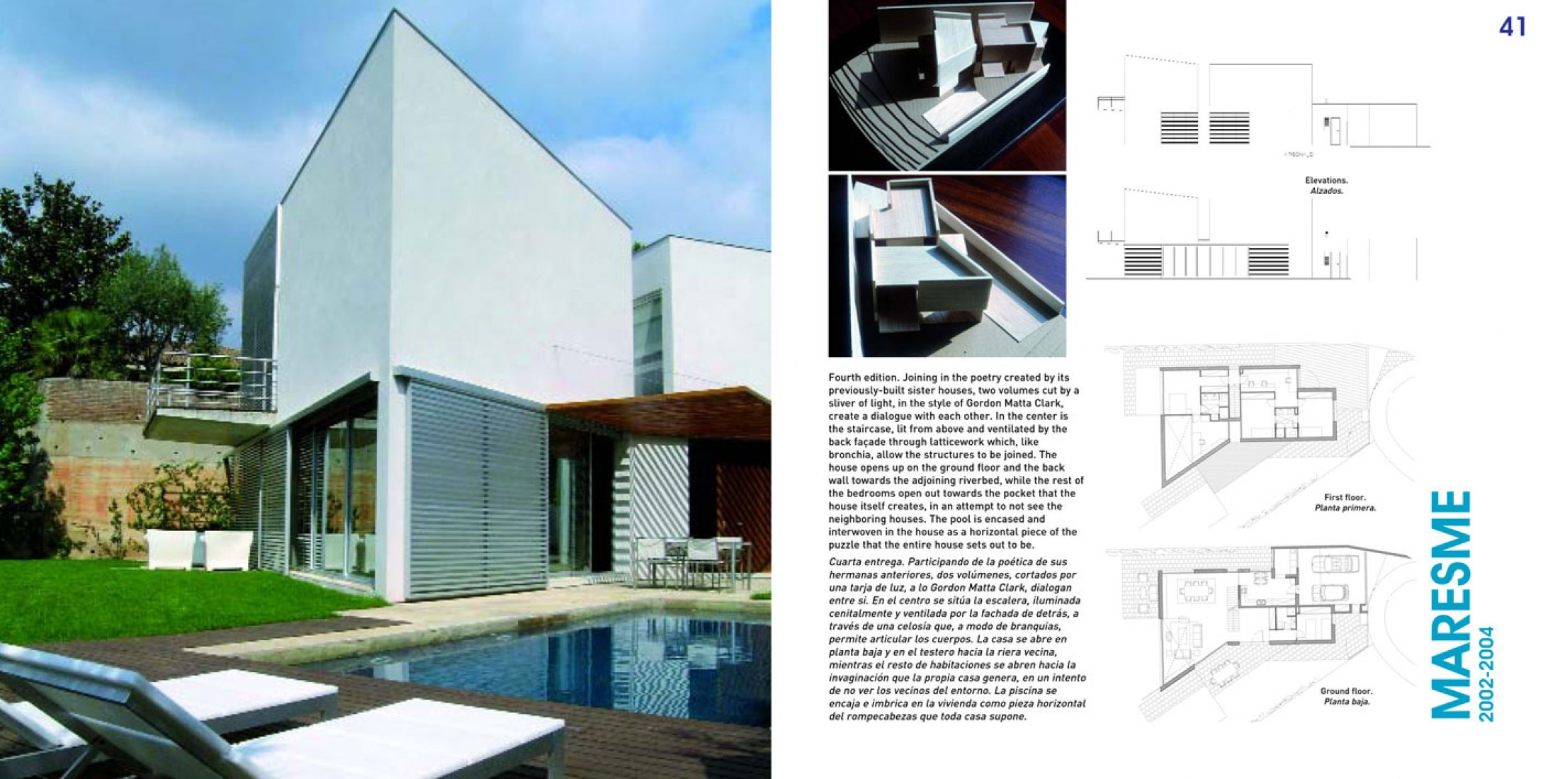 Interior pages. Sunlight Houses by Octavio Mestre