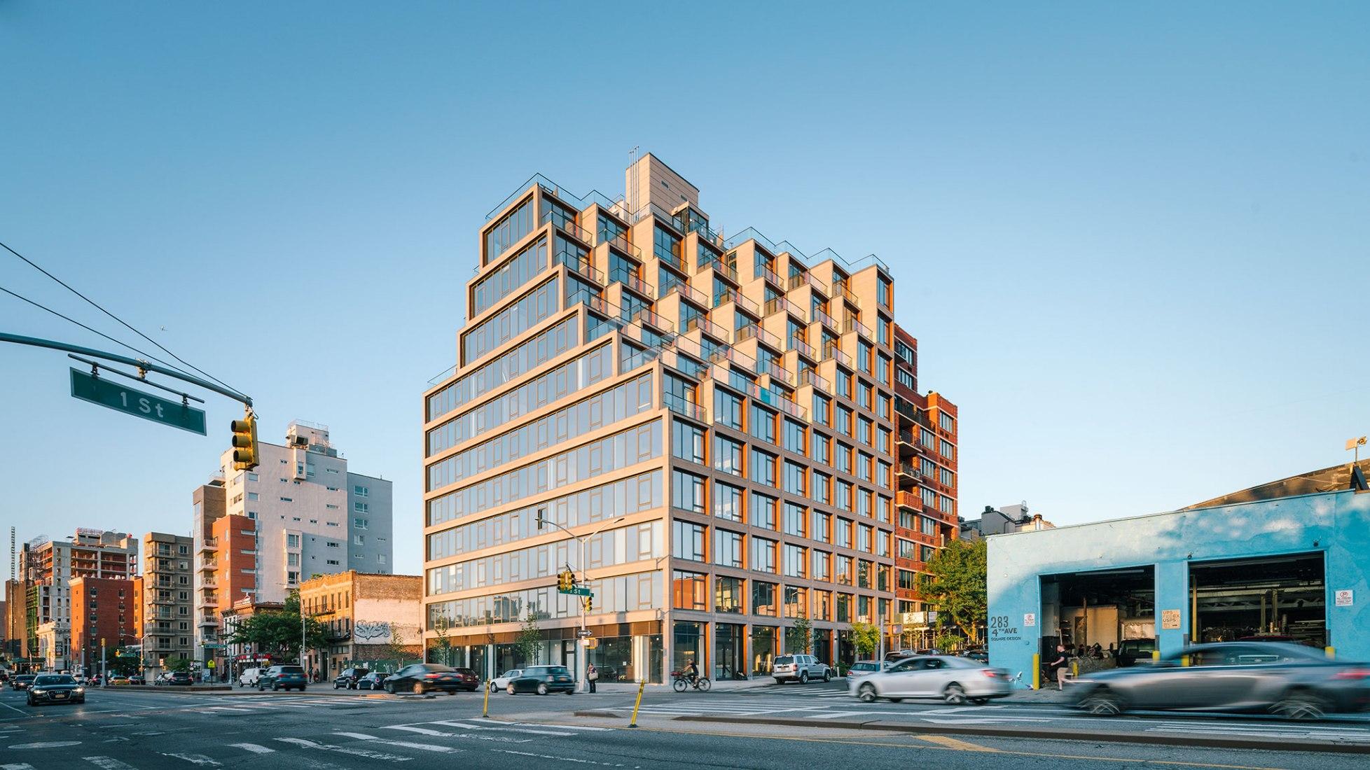 251 1st Street by ODA New York. Photograph © Miguel de Guzman